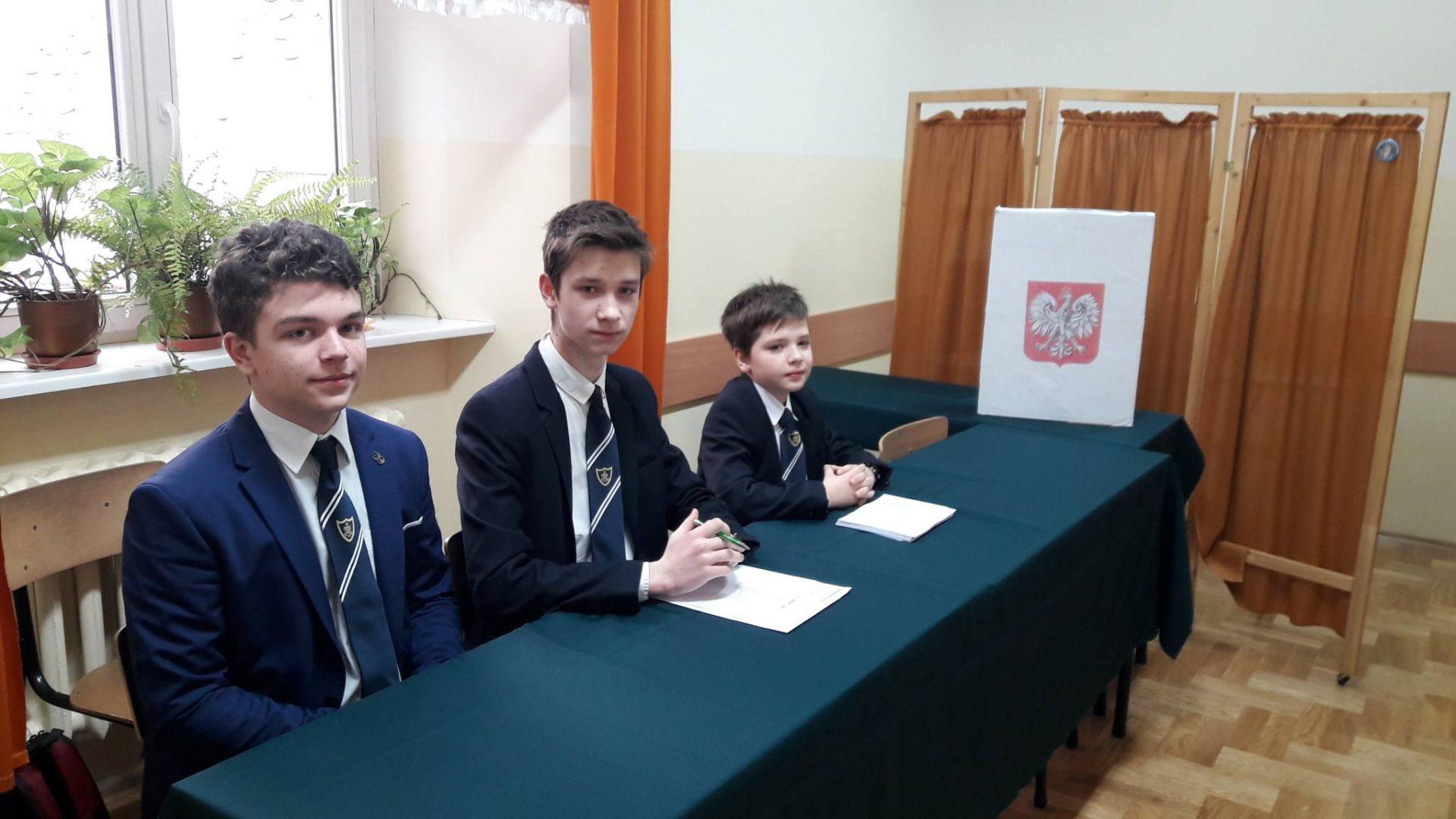 Wybory do Samorządu Uczniowskiego Szkoły Podstawowej