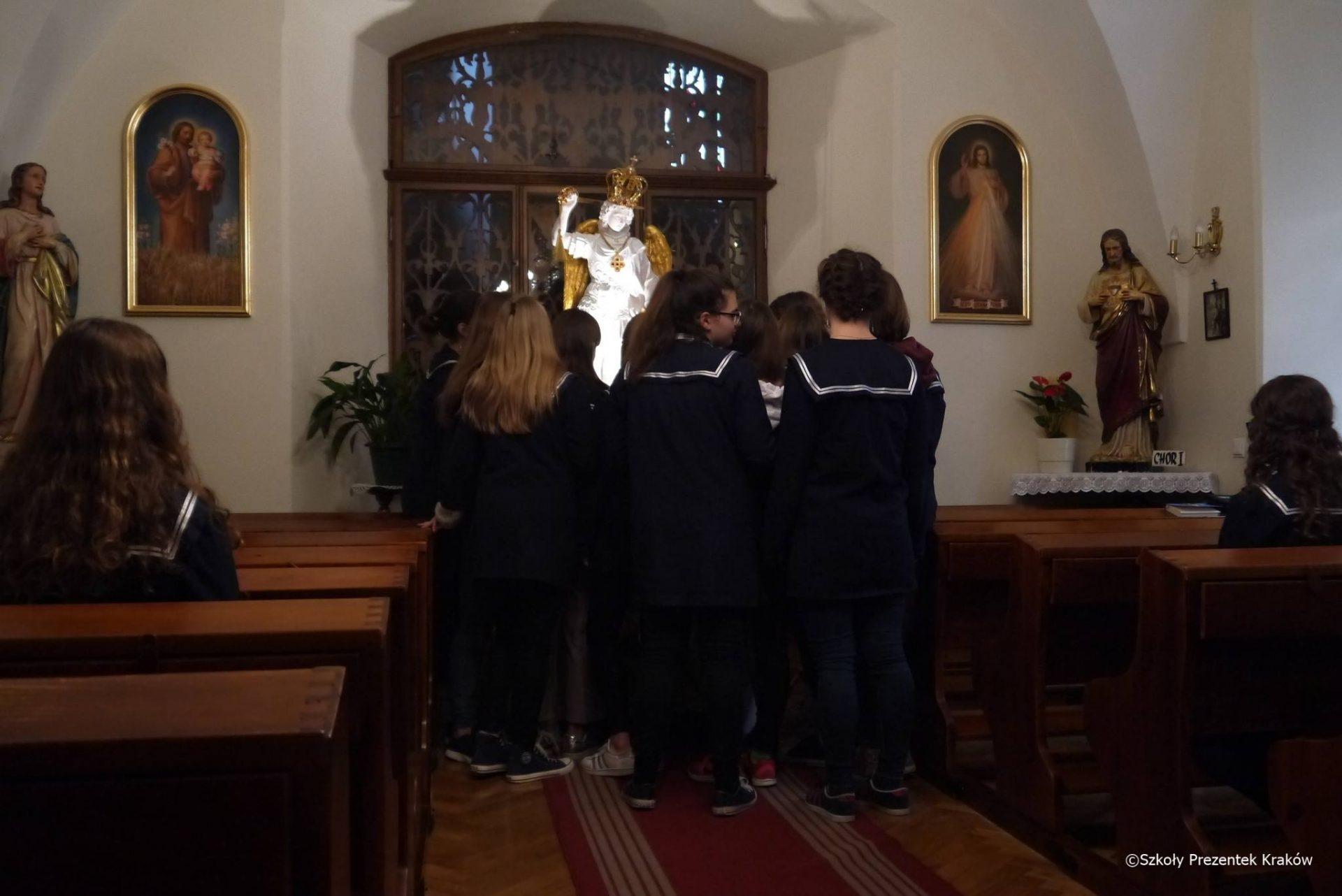 Spotkanie ze św. Michałem Archaniołem